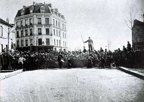 Barricades of the Paris Commune